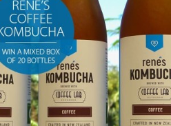 Win a box of Rene's Coffee Kombucha
