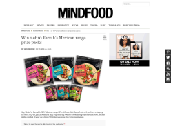 Win 1 of 10 Farrah's Mexican range prize packs