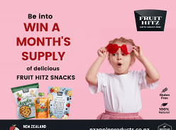 Win 1 of 10 Month's Supply of delicious Fruit Snacks