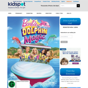 Win 1 of 3 Barbie Dolphin Magic DVDs