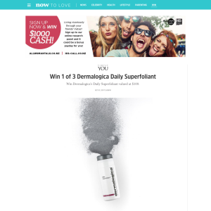 Win 1 of 3 Dermalogica Daily Superfoliant