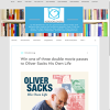 Win 1 of 3 double movie passes to Oliver Sacks His Own Life
