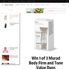 Win 1 of 3 Murad Body Firm and Tone Value Duos