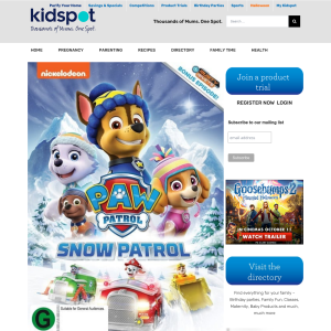 Win 1 of 3 PAW Patrol – Snow Patrol DVDs