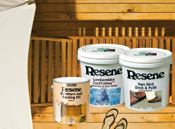 Win 1 of 3 prizes of Resene Furniture and Decking Oil