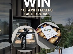 Win 1 of 4x Whittakers COLORSTEEL Packs