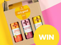 Win 1 of 5 sets of Daily Good Co Immunity Tonics