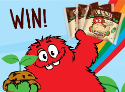Win 12x of 60g Original Plant Based Chocolate Chunk Cookies!