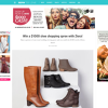 Win a $1000 shoe shopping spree with Ziera