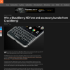 Win a BlackBerry KEYone and accessory bundle