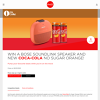 Win a Bose Soundlink Speaker and new Coca-Cola No Sugar Orange