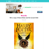 Win a copy of Harry Potter and the Cursed Child