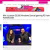 Win a custom $2,500 Windows Central gaming PC