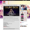 Win a double pass to Céline Dion