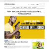 Win a double pass to see Central Intelligence