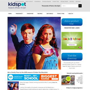 Kidspot NZ - Win a Family Pass to the ASB season of Under