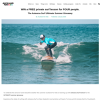 Win a Free Private Surf Lesson for Four People