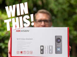 Win a HK Vision WIFI video doorbell