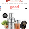 Win a Juice Fountain Cold XL machine by Breville