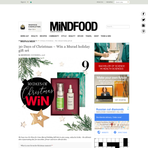 Win a Murad holiday gift set