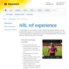 Win a NRL Ref Experience