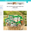 Win a nuts and savoury snacks hamper from Mother Earth