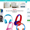 Win a pair of JBL JR300BT Kids Wireless On-ear Headphones