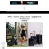 Win A Saben Three-Piece Luggage Set