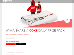 Win a Share a Coke Daily prize pack