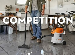 Win a Stihl Wet and Dry Vacuum Cleaner