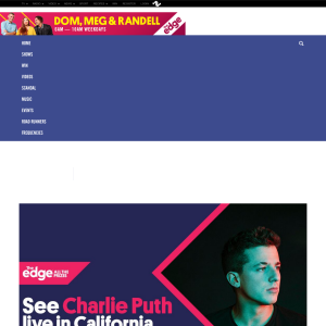 Win a Trip To See Charlie Puth live in California