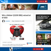 Win a Weber Q3200 BBQ valued at $1000!