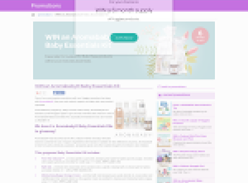 Win an Aromababy Baby Essentials Kit