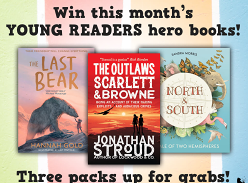 Win April's Collection of HarperCollins Young Readers Hero Books!