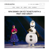 Win Disney On Ice tickets with a meet and greet
