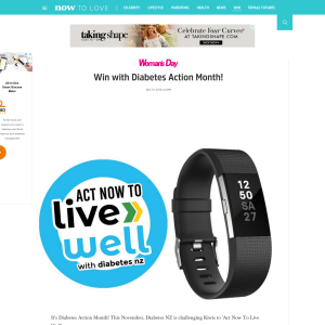 Win Eat Well Live Well Recipe Book and a Fitbit Charge 2