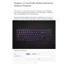 Win Hexgears X-1 Low-Profile Wireless Mechanical Keyboard