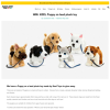 Win Keel Puppy on Lead Plush Toy