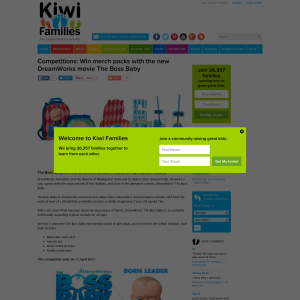 Kiwi Families NZ - Win merch packs with the new DreamWorks movie The