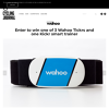 Win one of 3 Wahoo Tickrs and one Kickr smart trainer