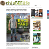 Win one of five copies of Kiwi Backyard by Andy Ellis