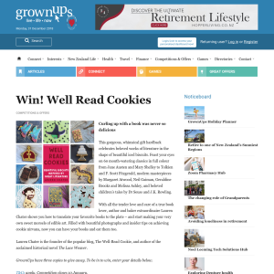 Win one of three copies of Well Read Cookies