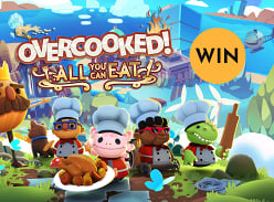 Win Overcooked! All You Can Eat, for you and a friend!