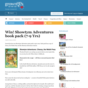 Win Showtym Adventures book pack (7-9 Yrs)