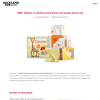 Win Sophie La Girafe board book and puzzle block set