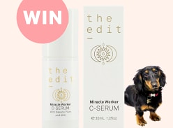 Win The Edit Cosmetics Miracle Worker C-Serum
