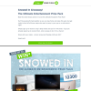 Win the ultimate Snowed In prize pack