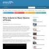 Win tickets to Mary Queen of Scots