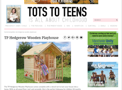 Win TP Hedgerow Wooden Playhouse