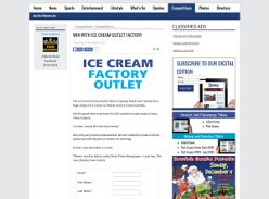 Win with Ice Cream Outlet Factory